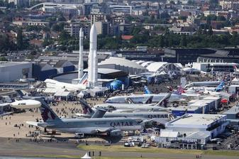 International Air Show w Le Bourget